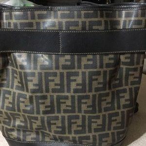Authentic Fendi large bucket bag
